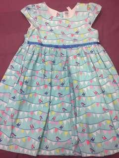 Cotton Quality Bird Print Dress