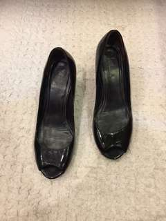 Colehaan patent leather wedges, size 8.5