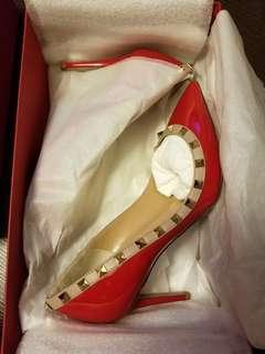 🆕Valentino紅色高跟鞋