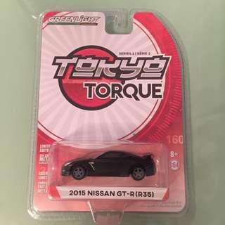 GREENLIGHT TORQUE NISSAN GTR R35