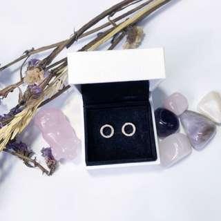 🖤 Pandora Rose Forever Stud Earrings