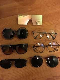 墨鏡太陽眼鏡大出清時尚造型眼鏡