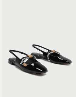 Charles & Keith slingback rope details Sandals
