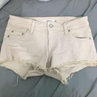 Talula aritzia OC shorts size 25