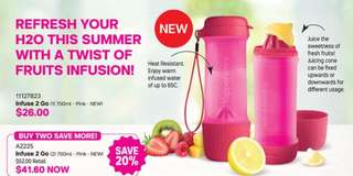 Tupperware Infuse2Go