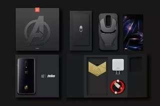 OnePlus 6 - Avengers Limited Edition [ 256GB ROM + 8GB RAM ] Original Imported Set