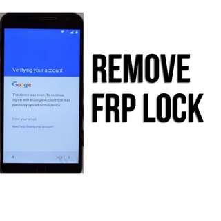 Remove GOOGLE ID LOCK Protection/ FRP