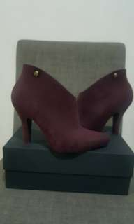 Melissa red boots size 8