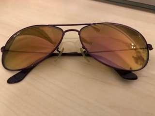 Ray Ban sun glasses (purple)