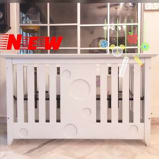 SOLID WOOD BABY TODDLER COT BED