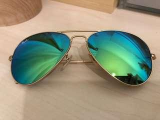 Ray Ban sun glasses 反光太陽眼鏡