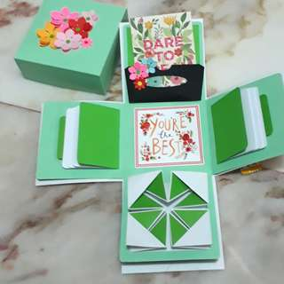 🚚 Explosion Box
