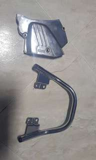 Krr chromo bar n sprocket cover