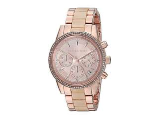 BRAND NEW MICHAEL KORS Women's Rose Gold Watch, 37mm