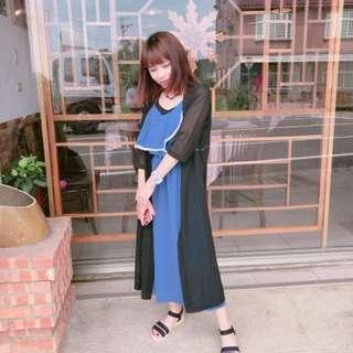 🚚 藍色連身裙✔️