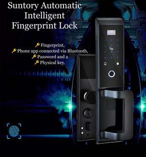 New Technolog - Suntory Automatic Intelligent Fingerprint Lock