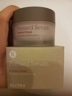 *1X USED ONLY* Blithe Pressed Serum Tundra Chaga