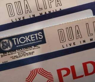 Dua Lipa Ticket