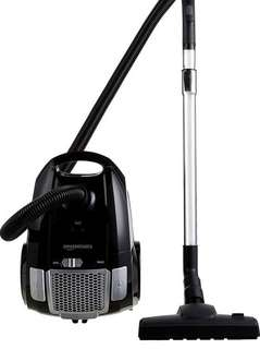 AmazonBasics Cylinder Vacuum Cleaner Hoover with bag, 3.0 L, 700 W
