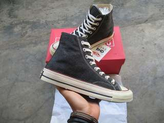 Converse 70s High Black Denim