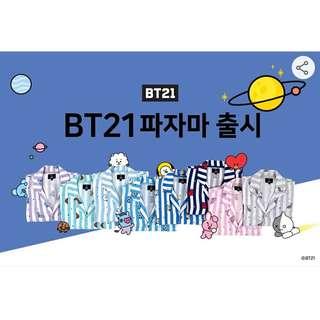 [PREORDER] BT21 Pajamas(8version) ✨