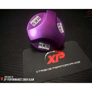 Engine Oil Cap HKS Honda Purple Colour
