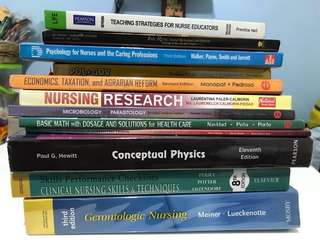 Nursing/General Subject Textbooks READ DESCRIPTION
