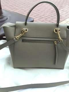 Celine Micro Belt Bag In Grained Calfskin
