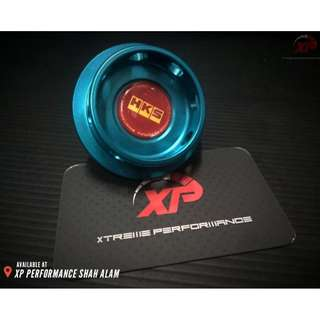 Engine Oil Cap HKS For Nissan FORD Blue Colour