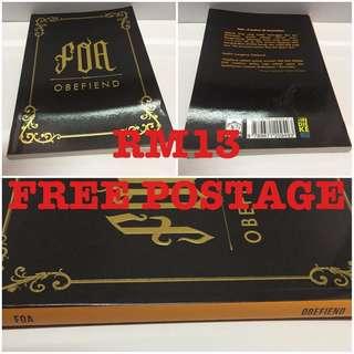 Novel Melayu Dubook Press FOA oleh Obefiend