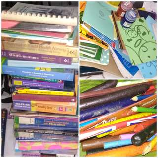 Used books and school supplies