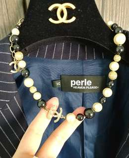 Chanel pearl necklace 珠珠短頸鏈