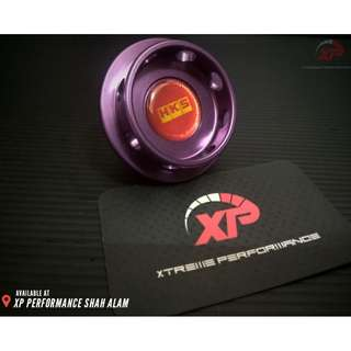 Engine Oil Cap HKS for NISSAN FORD Purple Colour