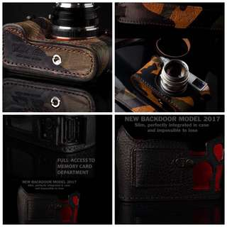 Sony A7R2 A7Rii Angelo Pelle Case With Strap