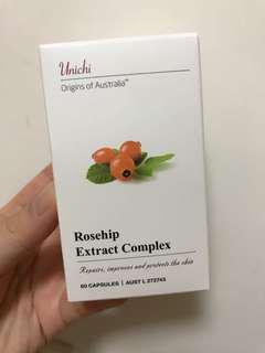 澳洲Unichi 玫瑰果精華膠囊 60粒