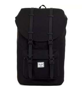 🚚 *47% OFF* Authentic + New Herschel Little America Bagpack (Full Volume: 25L) ALL BLACK