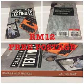 Novel Melayu Dubook Press PEDAGOGI BAHASA TERTINDAS Zul Fikri Zamir