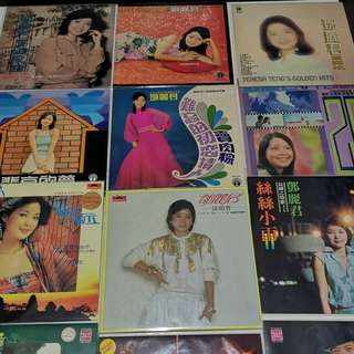 RARE CHINESE VINYL RECORDS LPs
