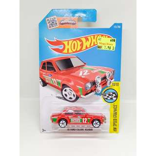2016 HOT WHEELS HW SPEED GRAPHICS '70 FORD ESCORT RS1600 CASTROL