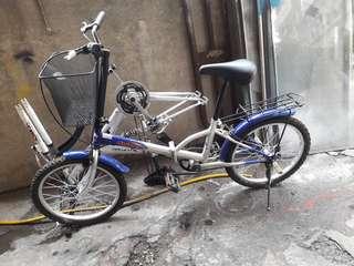 bicycle folding