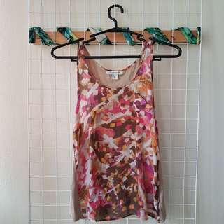 Item #1 Forever 21 Colorful flowy tank top