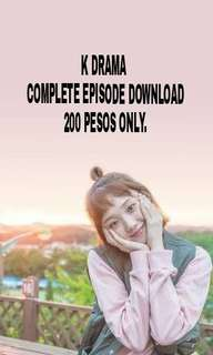 K drama! DL epsiode and othrr movies Hd