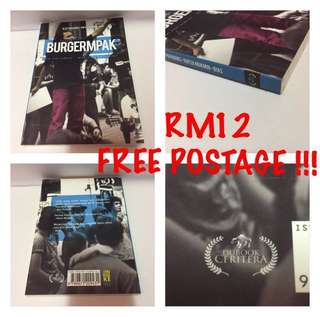 Novel Melayu Dubook Press BURGERMPAK Aloy Rayza Bias