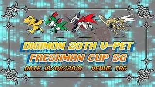 Digimon 20th freshman cup SG