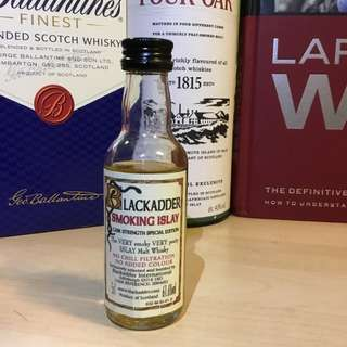 「清酒櫃」Blackadder Smoking Islay Cask Strength Special Edition Whisky IB