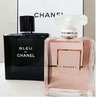 Parfum chanel couple