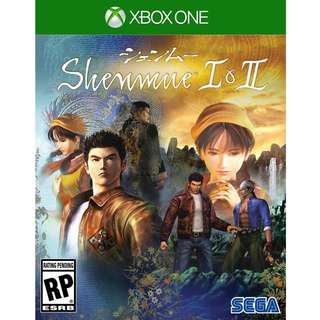 Xbox One Shenmue I & II Preorder