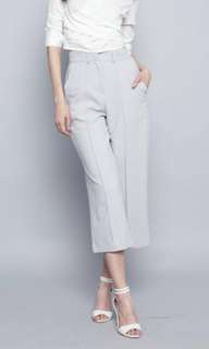 Long Wide Grey Culottes