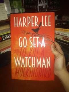 GO SET A WATCHMAN BY HARPER LEE HARD BOUND