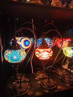 Table lights (made in turkey hand made )